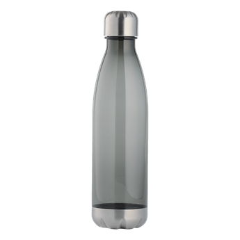 1 Litre Tritan Water Bottle With Stainless Steel Bottom And Cap, BW0076