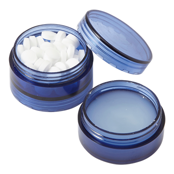 2 In 1 Mints And Lip Balm Jar, BH7548