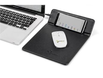 Ashburton Mousepad With Wireless Charger, TECH-5040