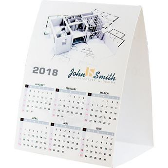 Advertising Tent Calendar With Full Colour Print, TENT004