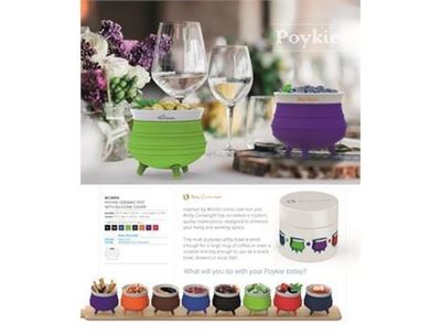 Andy Cartwright Poykie Ceramic Pot With Silicone Cover, AC-2000