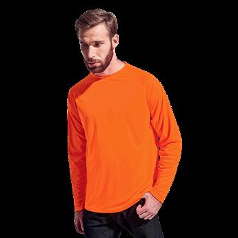 135g Long Sleeve Polyester T-Shirt , TSL135B