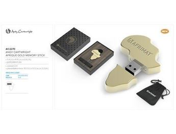 Andy Cartwright Afrique Gold Memory Stick, AC-2270