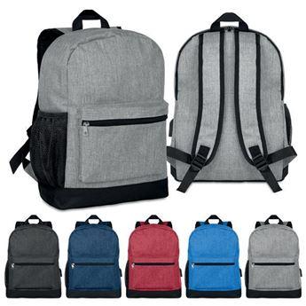 2 Tone Backpack, BAG0690