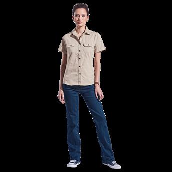 Ladies Plain Bush Shirt, LL-BUSH