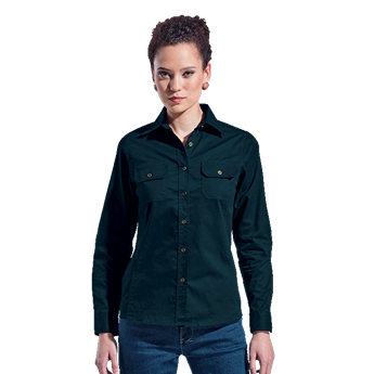 Ladies Bush Shirt Long Sleeve, LLLO-LBUSH