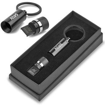 Alex Varga Blofeld Flash Drive Keyholder - 32GB USB, AV-19147
