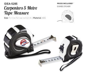 Carpenters 5 Metre Tape Measure, IDEA-5285