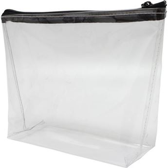 Skyler PVC Cosmetic Bag With 1 Col Screen Print